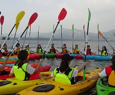 皮划艇-团队建设课程